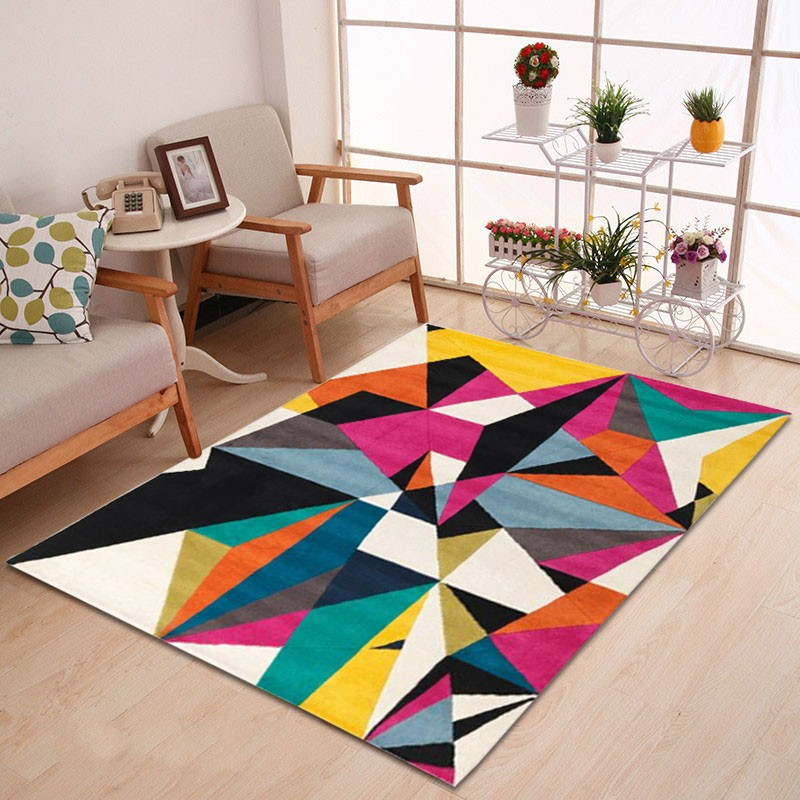Prizma - The colorful bedroom area rug