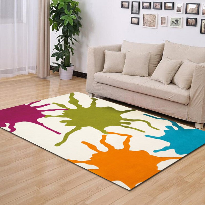 Gouttes - The colorful are rug for bedroom