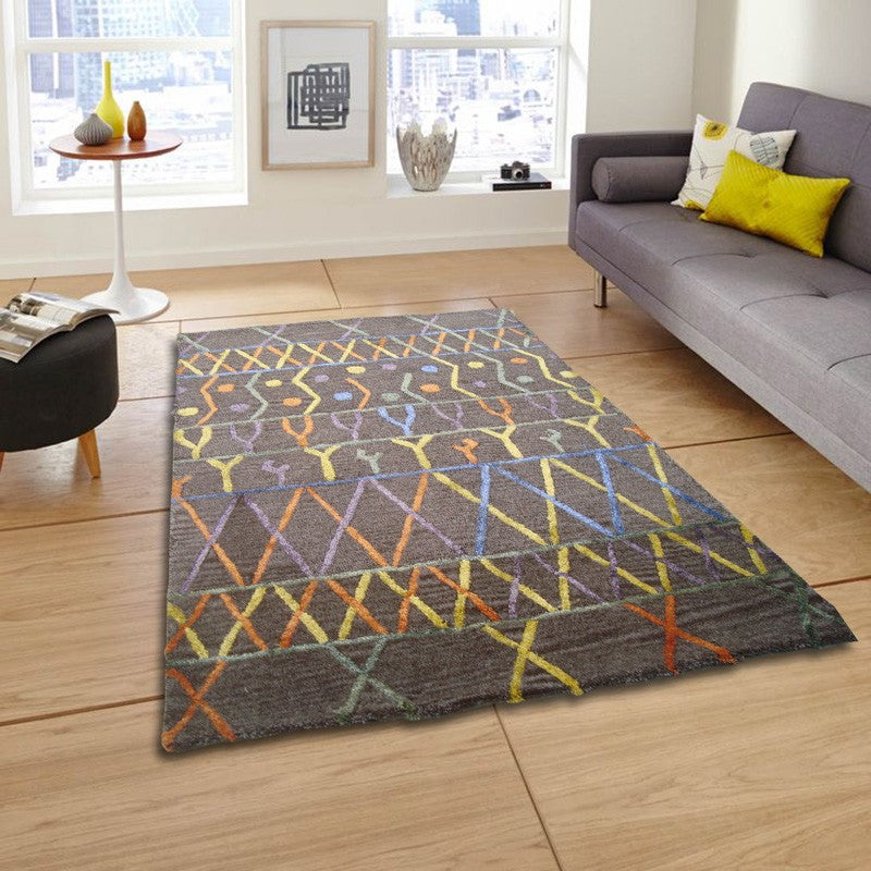 Hrutvi - The colorful contemporary rug