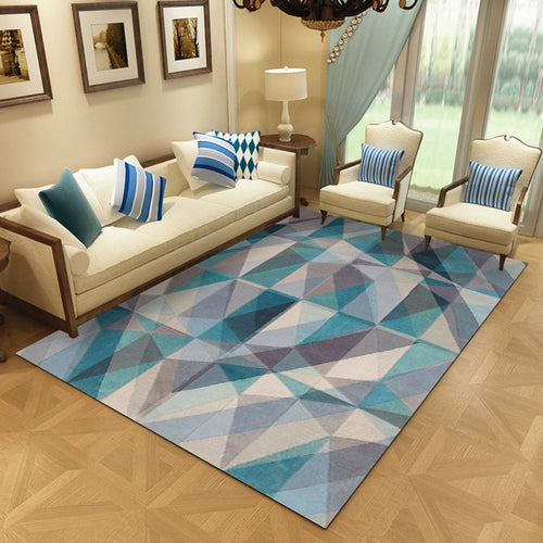 trikona - the colorful bedroom area rug