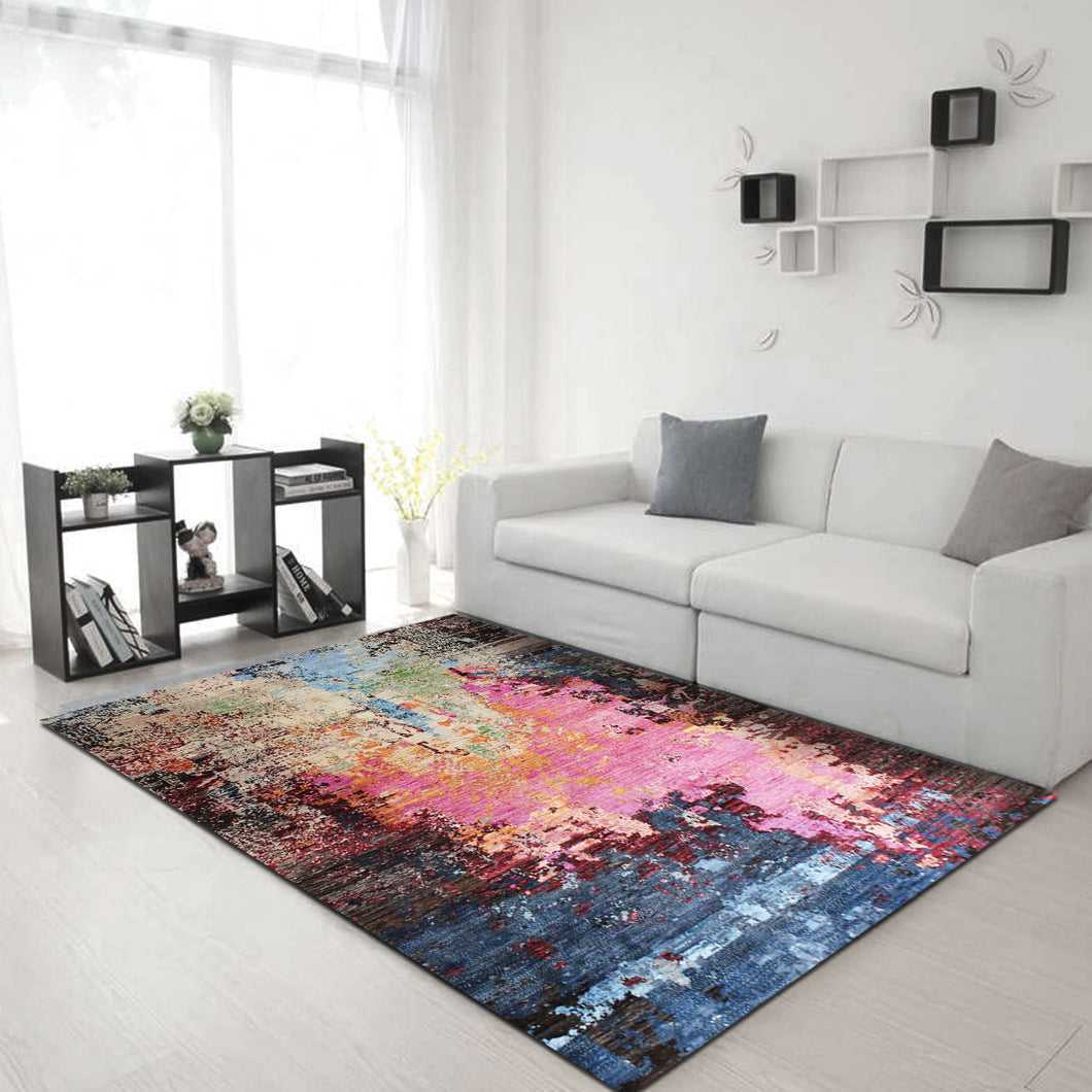 Werna Cemlorot - abstract In stock rugs
