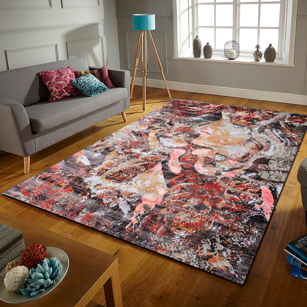 Art rouge - abstract In stock rugs