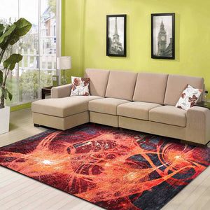 Gwin Coch - Abstract In stock rugs