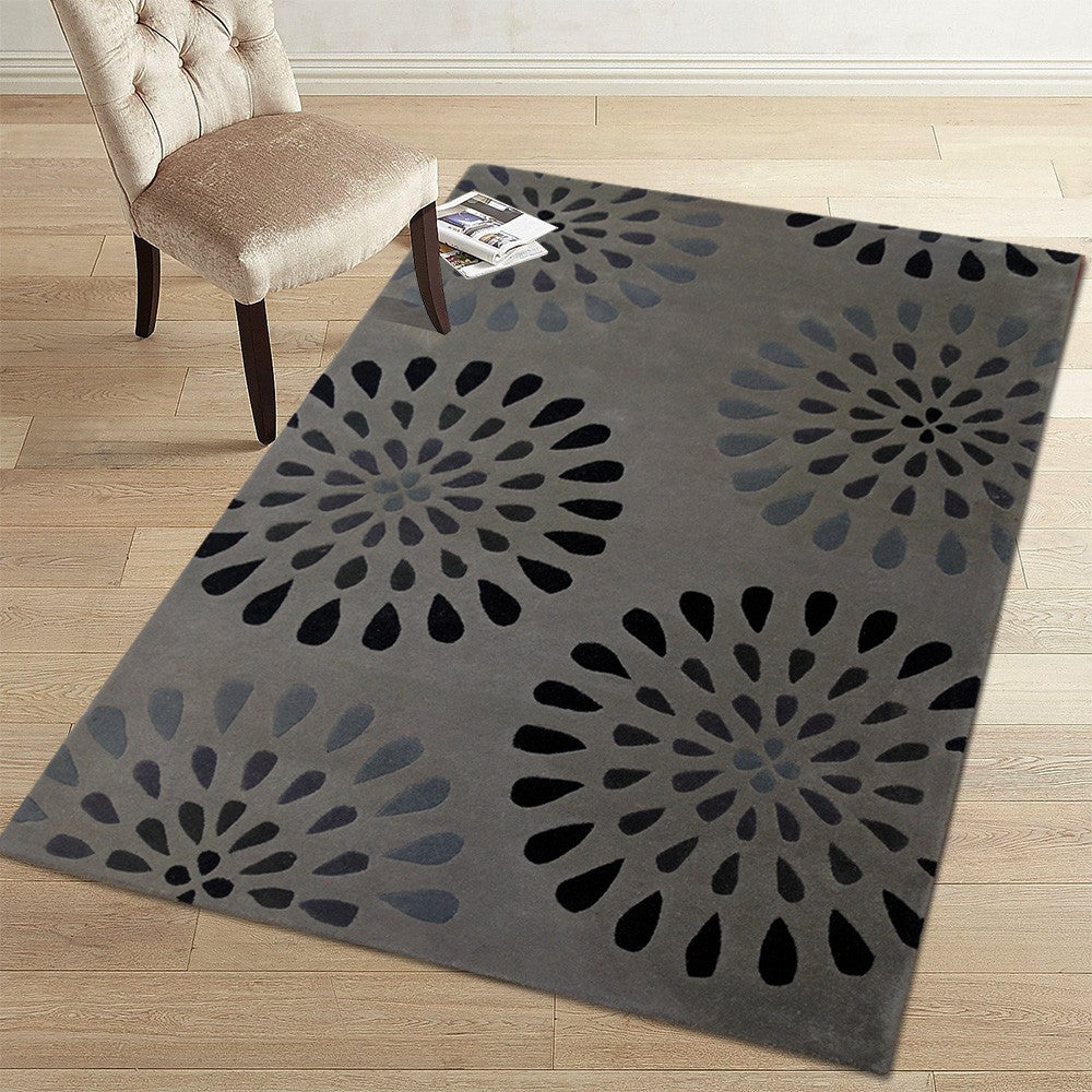 Aara - The blue traditional indoor rug