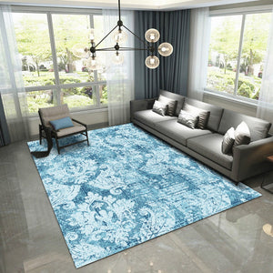 Anapos - The beautiful blue contemporary rug