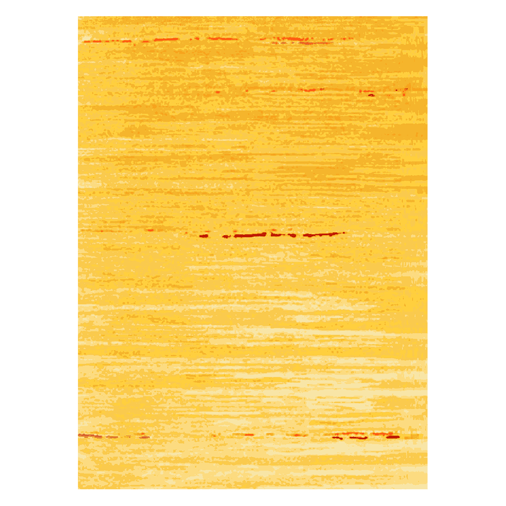 Daj - the ochre contemporary area rug