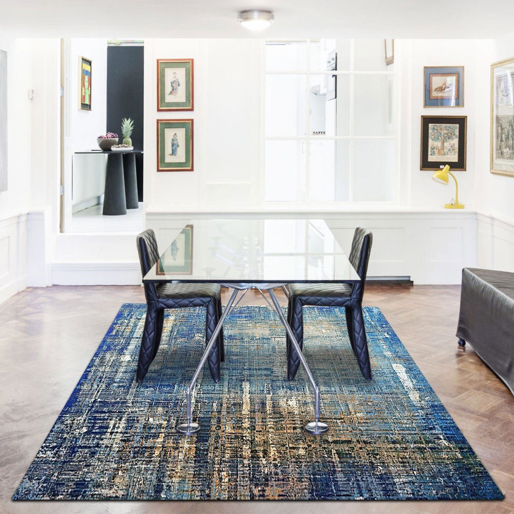 Goaika - The beautiful dark indoor area rug