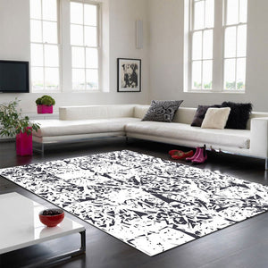 Harmaa - The gray hand woven indoor rug