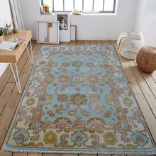 inez - a bright traditional rug