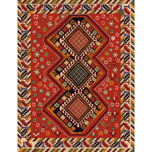 Kavya - The colorful rural design area rug