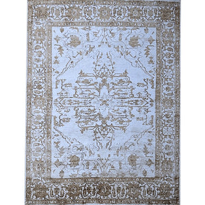 keva - the beautiful light traditional rug