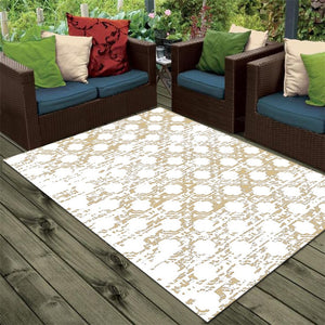 Lavirint - The simple light living area rug