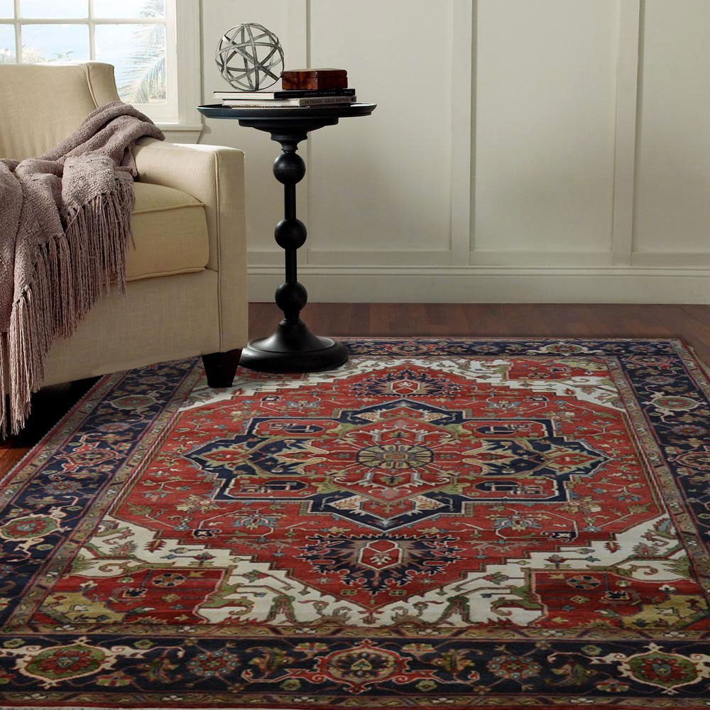 liyana - the traditional colorful bedroom rug