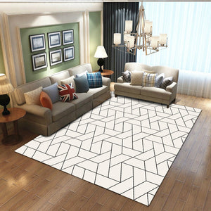 Liza - The simple bright inexpensive rug