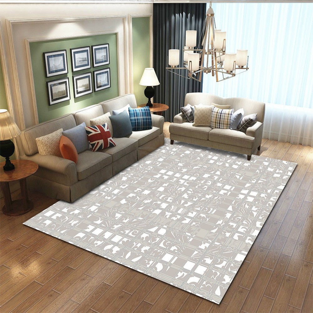 Mashofi - The simple indoor living area rug