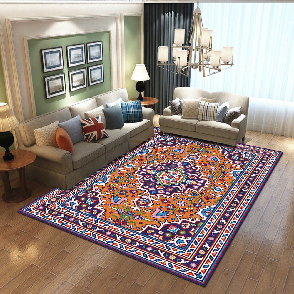 Miti - The beautiful blue indoor area rug