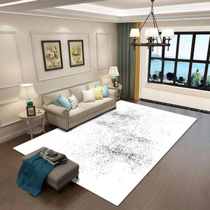 Nebbia - The simple light bedroom area rug