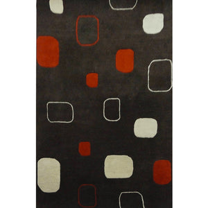ntuchi - the modern indoor brown rug