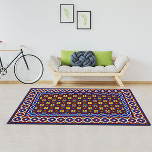 Sehkyinn - The colorful hand woven area rug