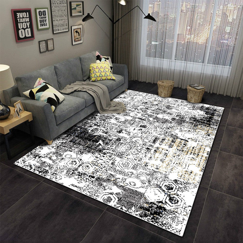 Siva - The gray hand woven indoor area rug