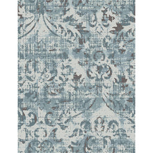 Theresa - The beige floral indoor area rug