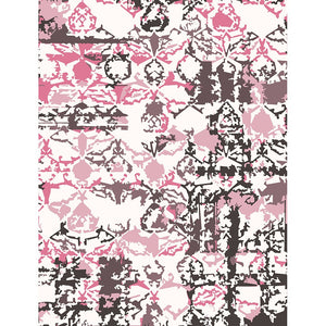 Viha - The designer pink living area rug