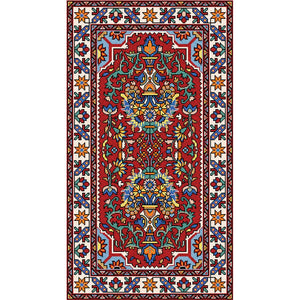 Viribus - The hand woven indoor area rug