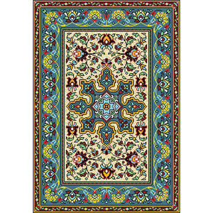 Ziha - The designer traditional area rug