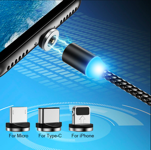 MAGNETIC CHARGING CABLE (3 IN 1)