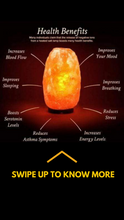Load image into Gallery viewer, Healing Himalayan Salt Lamp