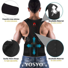 Load image into Gallery viewer, ADJUSTABLE MAGNETIC POSTURE CORRECTOR