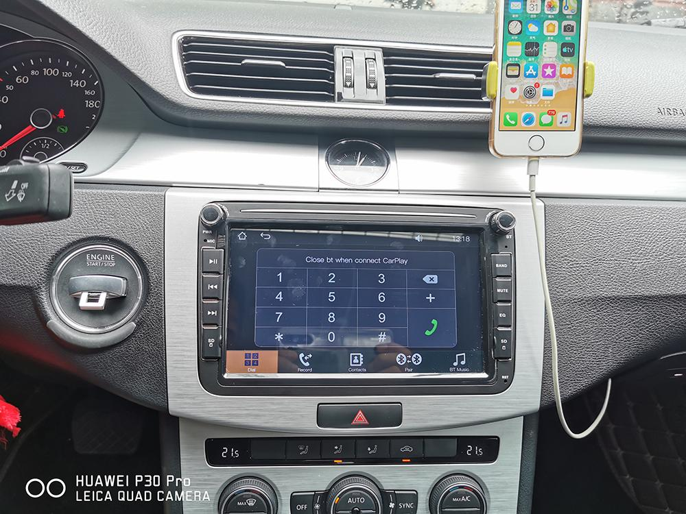 Factory price! 1024*600 8″ 2DIN Car radio Built-in Apple