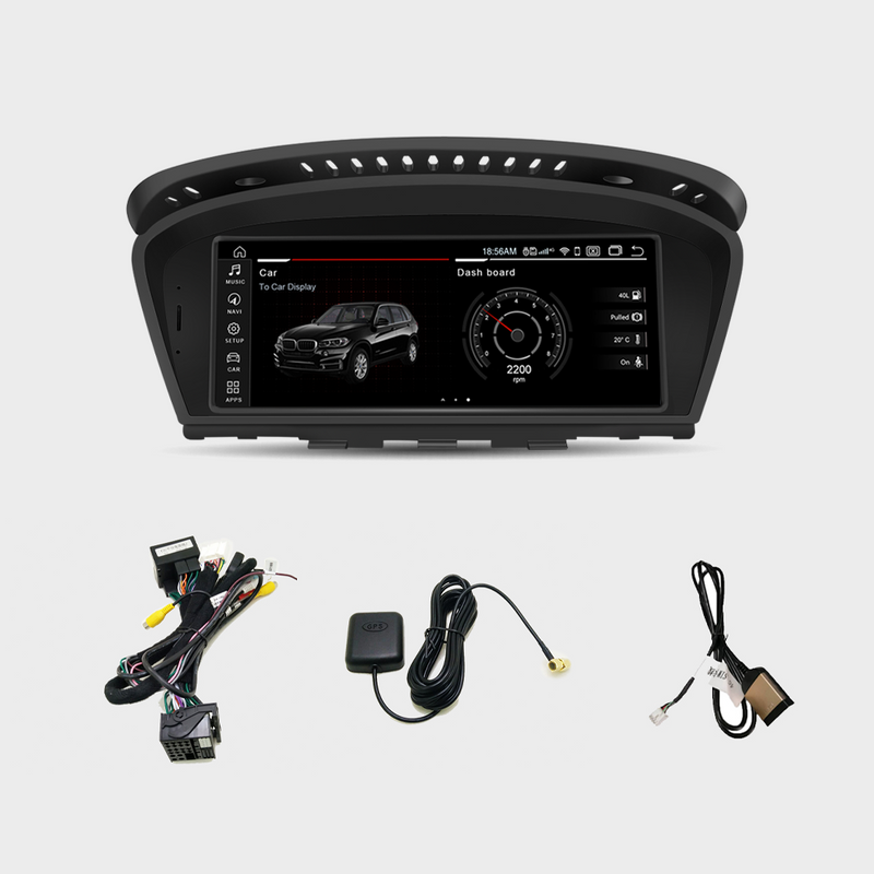 "8.8"" Android 10.0 4G+64G Qualcomm Octa-core built-in 4G-LTE IPS Car Interface MultiMedia for BMW Series3 5 E60 E61 E90 E91 M3 GPS navigation Head unit"