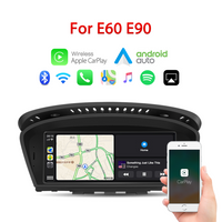 "8.8"" wireless Apple CarPlay + Android auto  GPS navigation Head unit for BMW Series3 5 E60 E61 E63 E64 M6 E90 E91 E92 E93 M3"