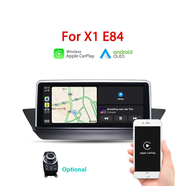 "Andream 10.25"" wireless Apple CarPlay + Android auto  for BMW X1 E84 2009-2015 multimedia Head unit"