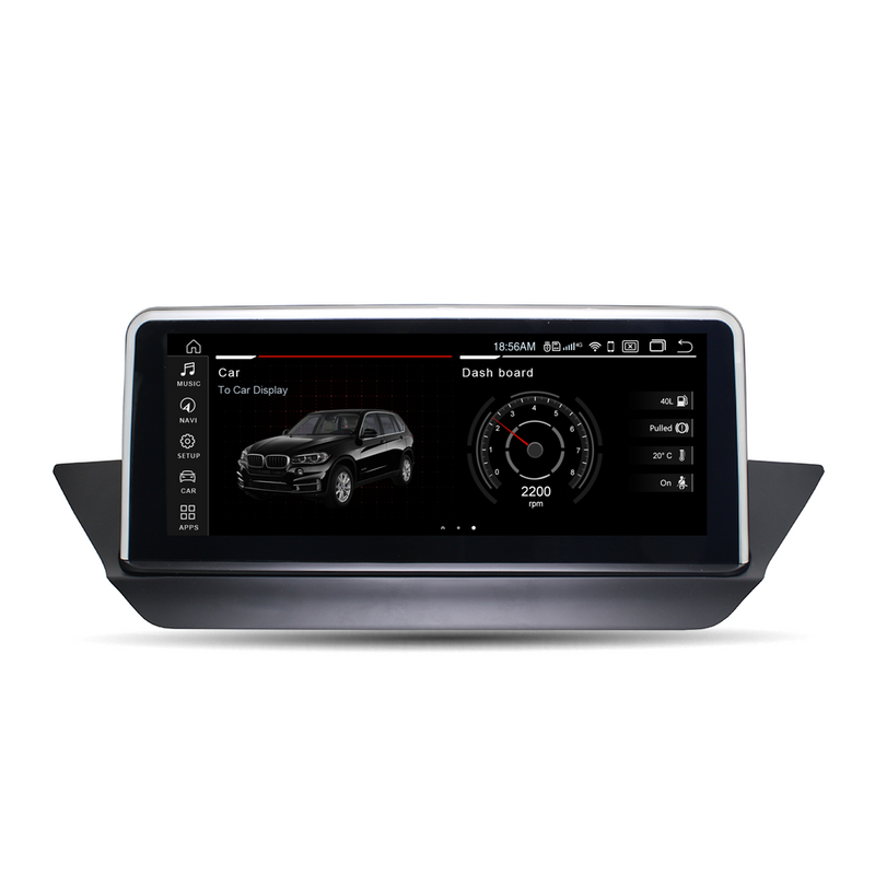 "10.25"" Android 10.0 4G+64G Qualcomm Octa-core built-in 4G-LTE IPS Car Interface MultiMedia for BMW X1 E84 2009-2015 GPS navigation Head unit"