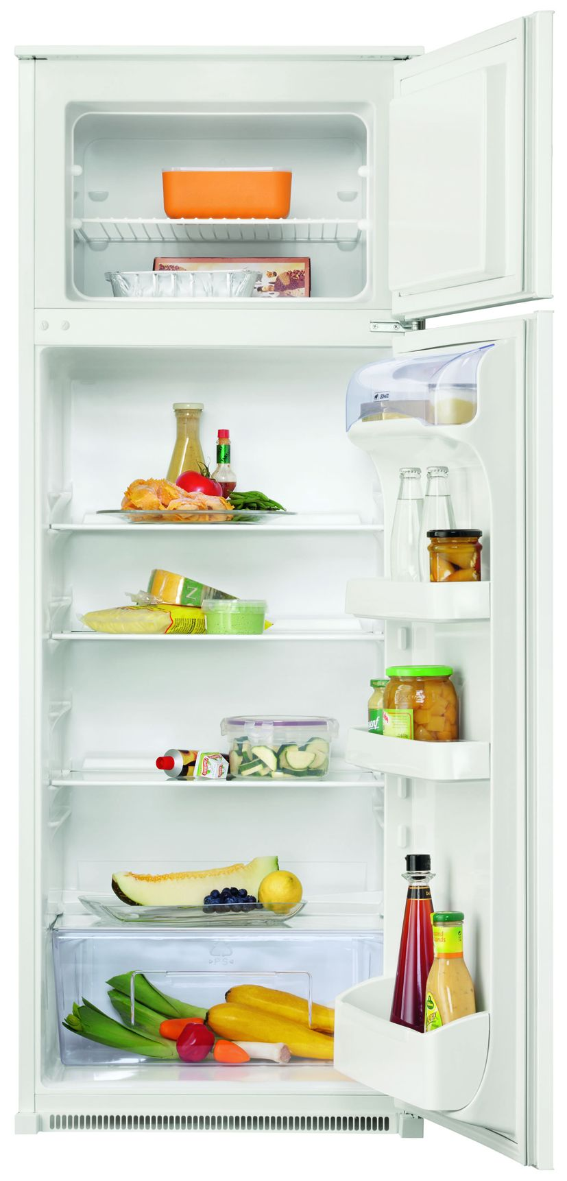 Leonard built-in fridge LKT1441 fridge-freezer combination A + 218L can be integrated with sliding door for 145 mm niche
