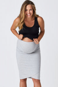 Harley Cross Hem Skirt - Pea in a Pod