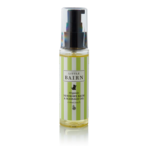 New Born Bath & Massage Oil - Little Bairn