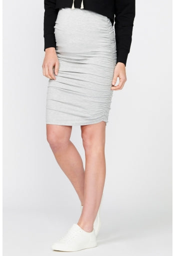 Bailey Gather Pencil Skirt - Pea in a Pod