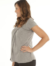 Breastfeeding Petal Short Sleeve Top - Angel Maternity