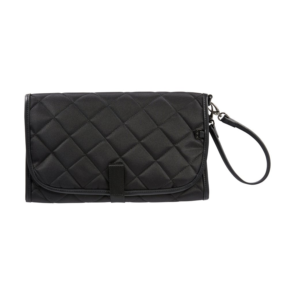 Black Quilt Change Clutch- Oioi
