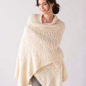 Taupe Giving Shawl - Demdaco