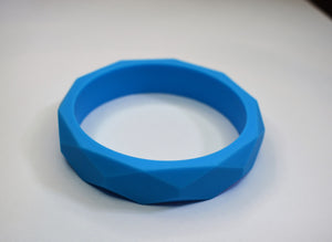 Geo Silicone Teething Bangle