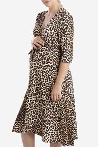 Harper Dress - Animal Print
