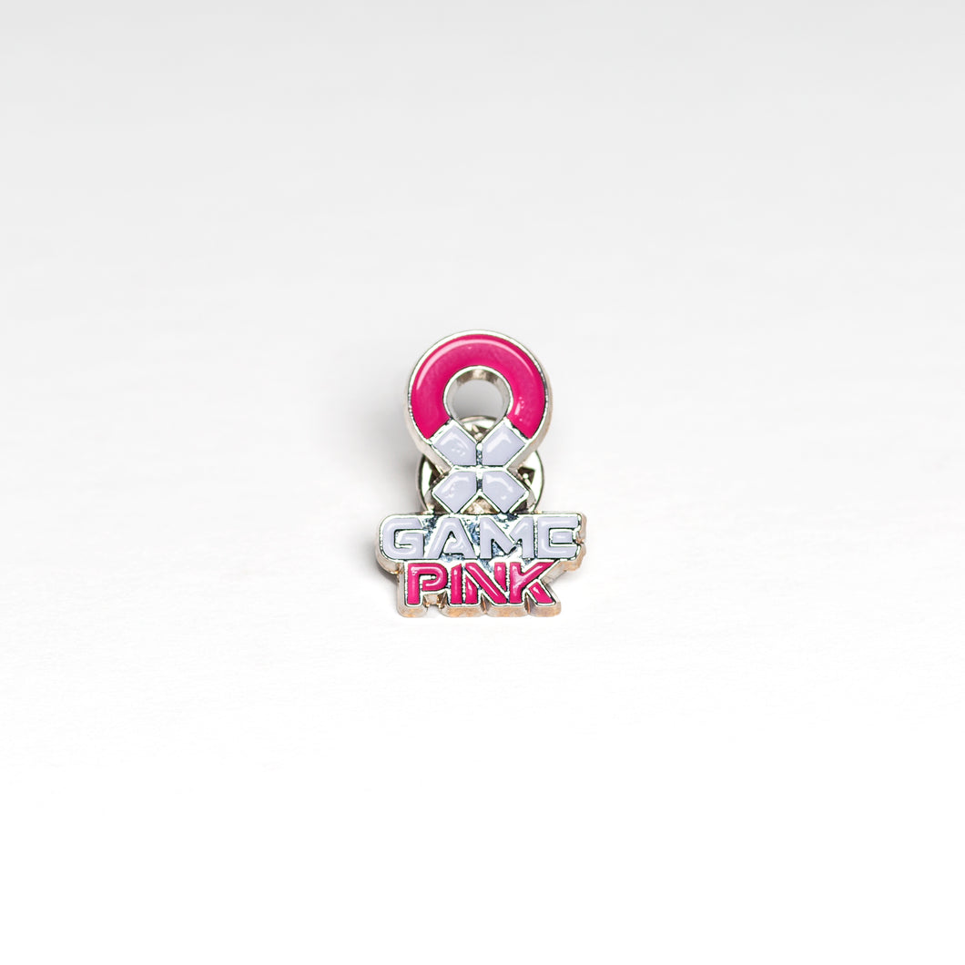 Game Pink Lapel Pin