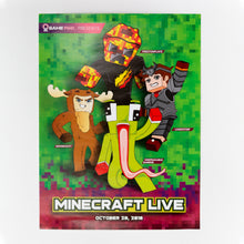 Load image into Gallery viewer, Minecraft Live Poster