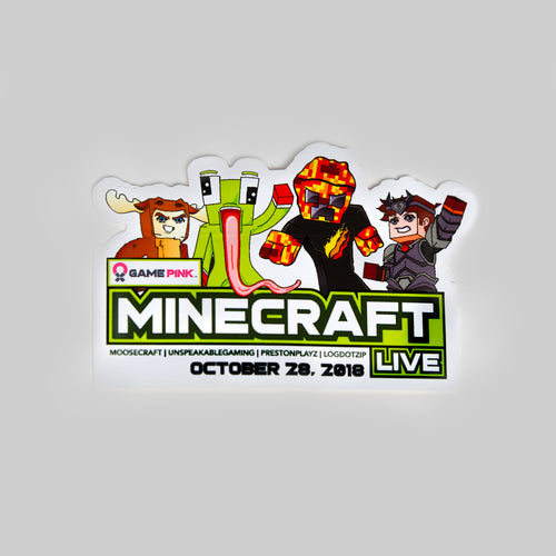 Minecraft Live Sticker