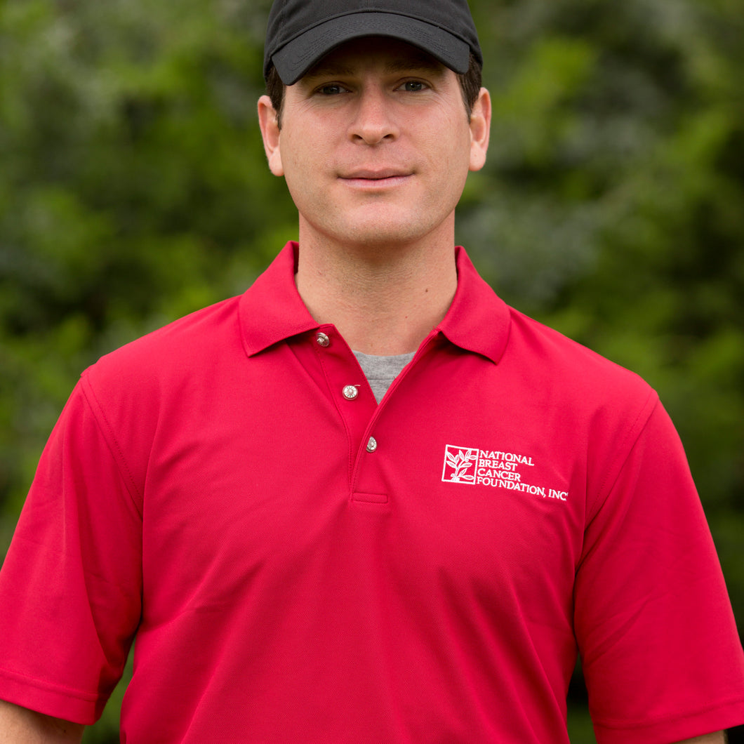 Men's NBCF Polo - Red