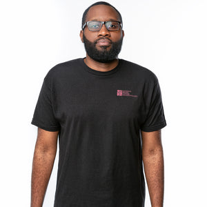 NBCF Logo T-Shirt - Black